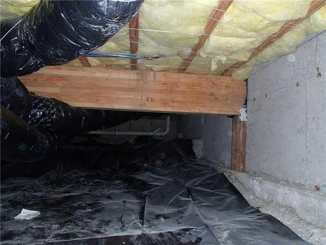 Crawl Space Vapor Barrier Installation in Freeland, WA