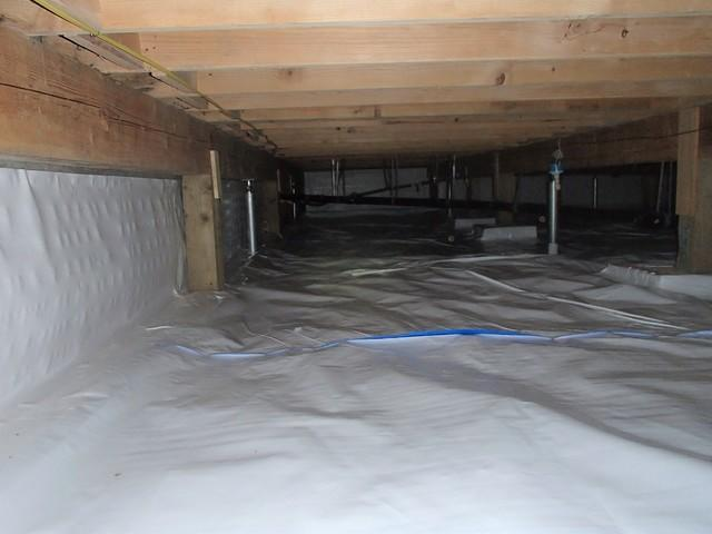 Sagging Crawl Space Repair in Everett, WA