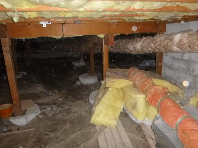 Waterproofing and Encapsulation in Burlington Crawl Space