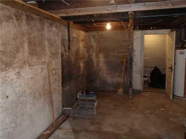 Concrete, WA Basement Waterproofing - Before Photo