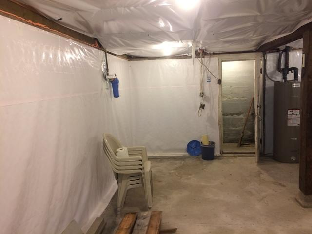 Concrete, WA Basement Waterproofing - After Photo