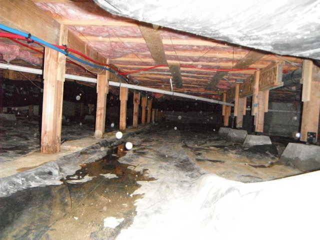 Crawl Space Repair and Waterproofing in Langley, WA