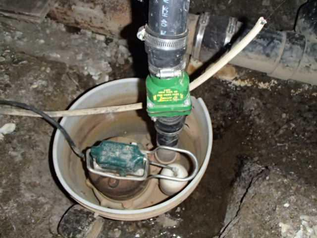 Sump Pump System in Bellingham, WA Crawlspace