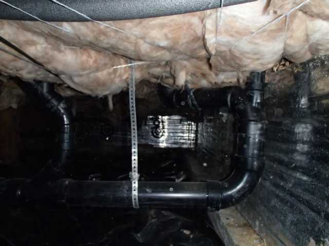 WaterGuard Drainage System in a Leaky Coupeville, WA Crawl Space