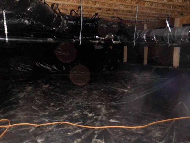 Water in Crawlspace Under Newer Arlington, WA Home