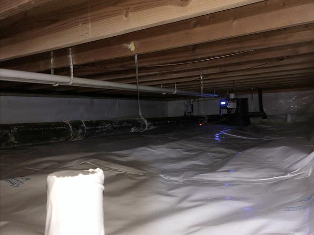 Repairing Water in Crawl Space in Brier, WA