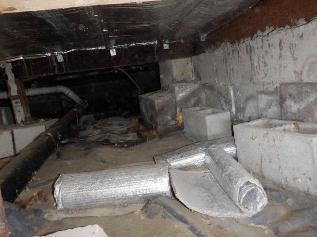 Camano Island, WA Crawlspace Repair Project