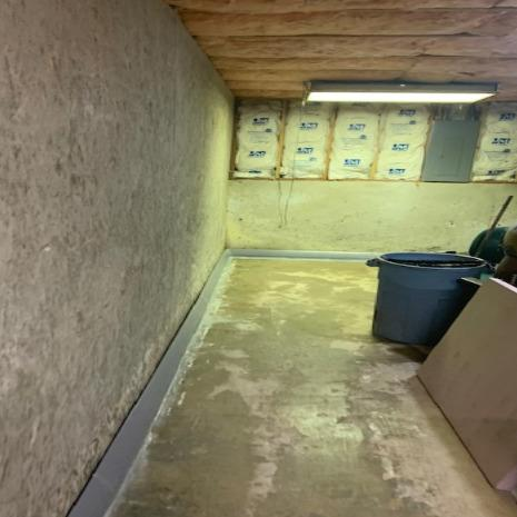 Before & After Basement Waterproofing in Monroe, WA - After Photo