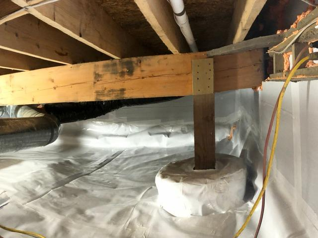 Crawl Space Encapsulation and Drainage in Arlington, WA
