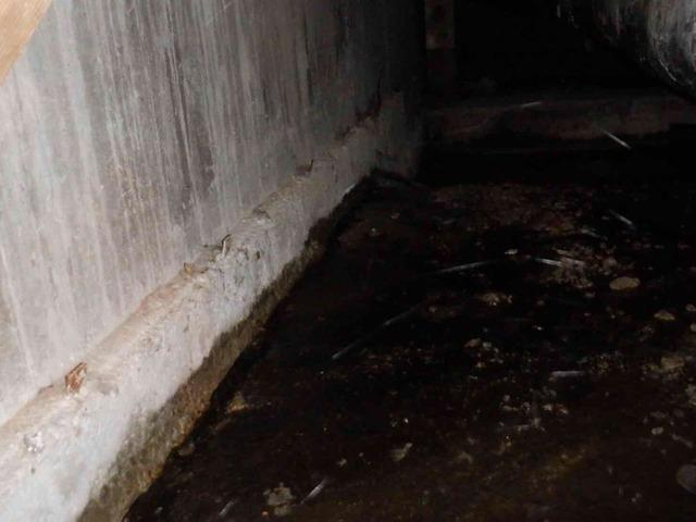 Moisture in Mount Vernon Crawl Space & Basement