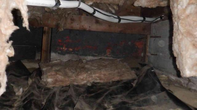 Covering and Insulating Crawl Space in Arlington, WA