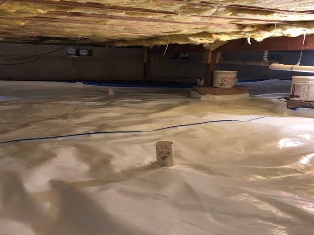 Crawl Space Leak Repair in Bellingham, WA