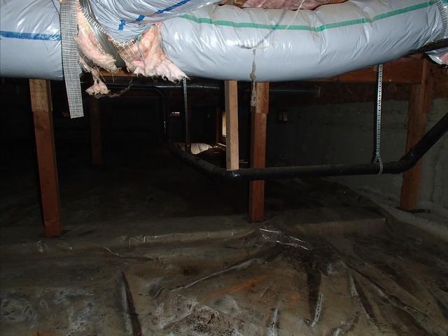 Mount Vernon, WA Crawl Space Encapsulation