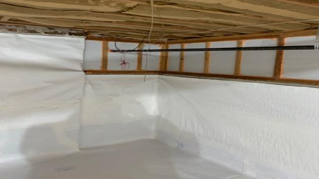 Foamax Wall Insulation in Crawl Space, Mill Creek, WA