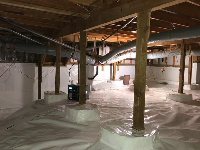 Crawl Space Encapsulation in Lynnwood, WA