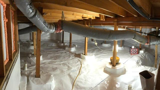 Wet to Dry Crawl Space in Lynnwood, WA