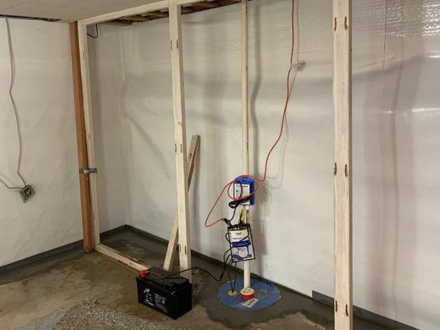High Volume Sump Pump System in Everett, WA