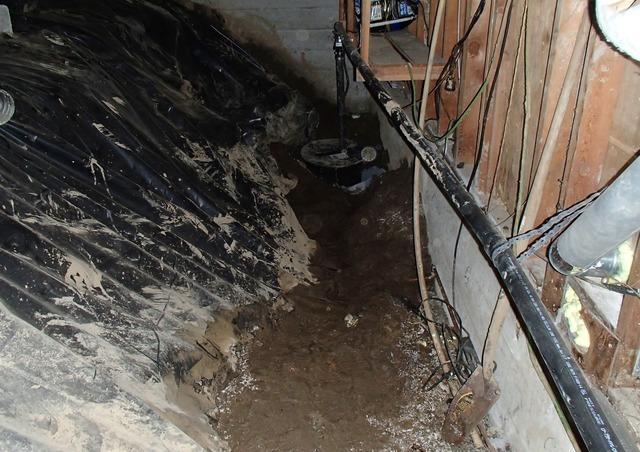 Crawl Space Flooding in Edmonds, WA