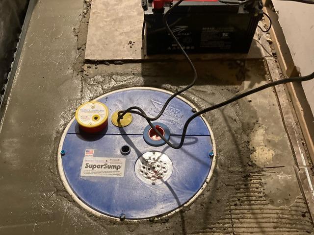 Waterproofing in Basement, Snohomish, WA
