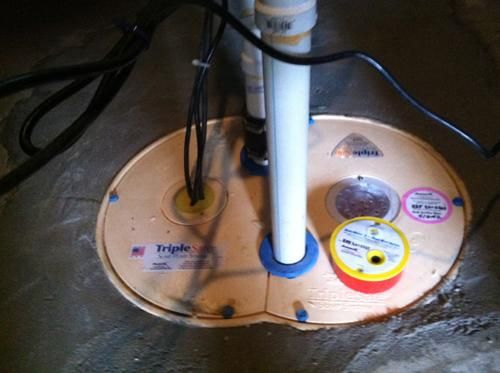 Triple Safe Sump Replaces Inefficient Sump Pump in Southfield, MA