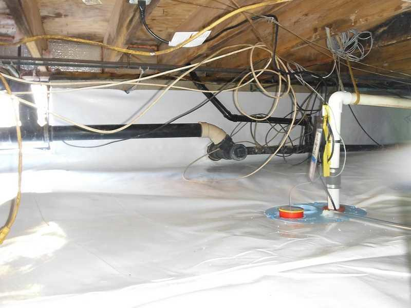 New Sump Pump for this Home in East New Market, MD - After Photo