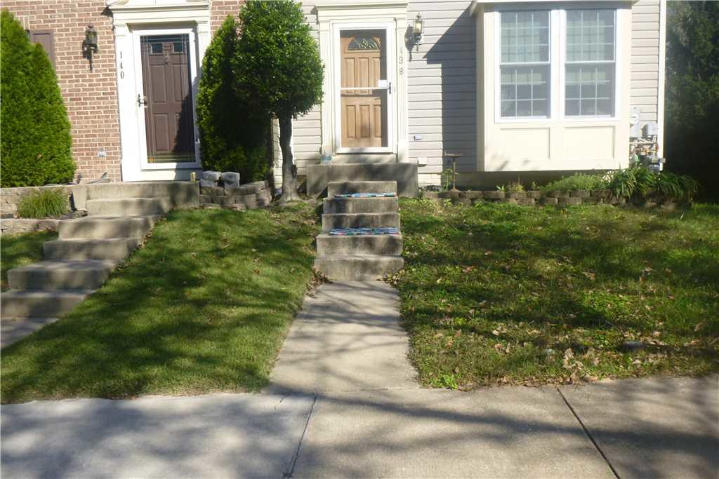 Stairs Go From Hazardous to Heavenly in Glen Burnie, MD - Before Photo