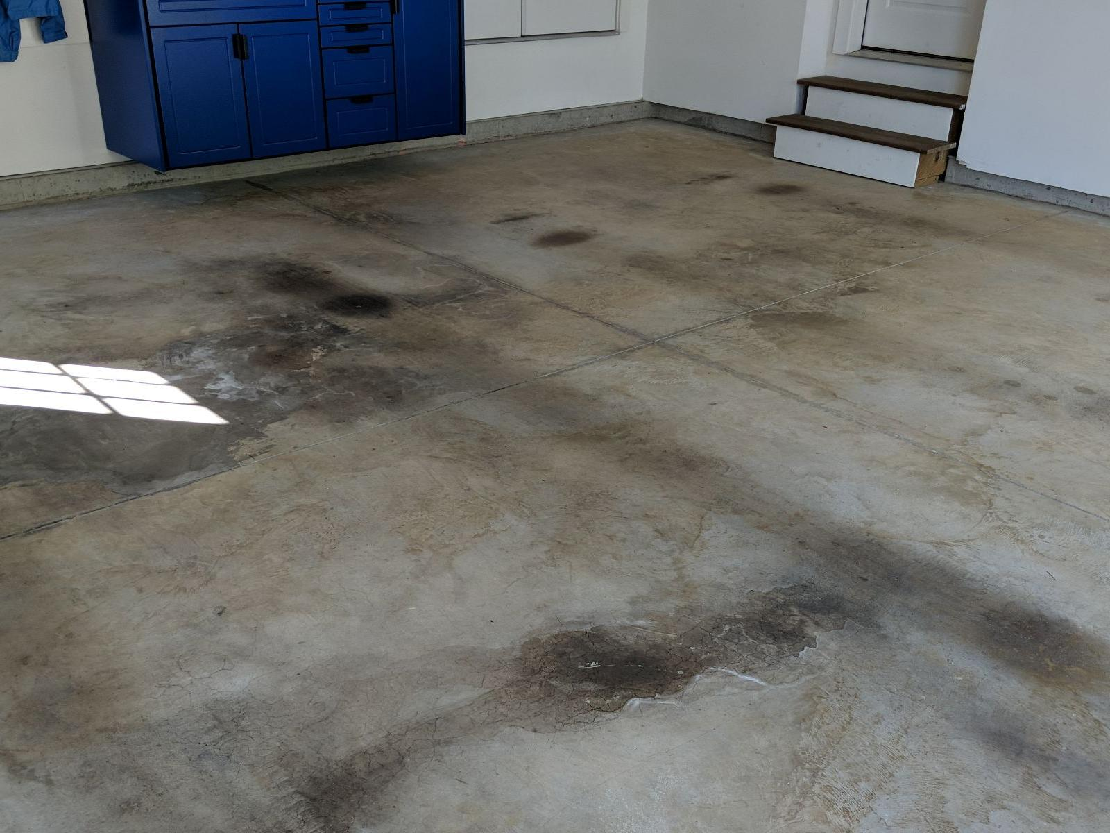 The WOW Factor Garage Floor Coating in Berlin, MD - Before Photo