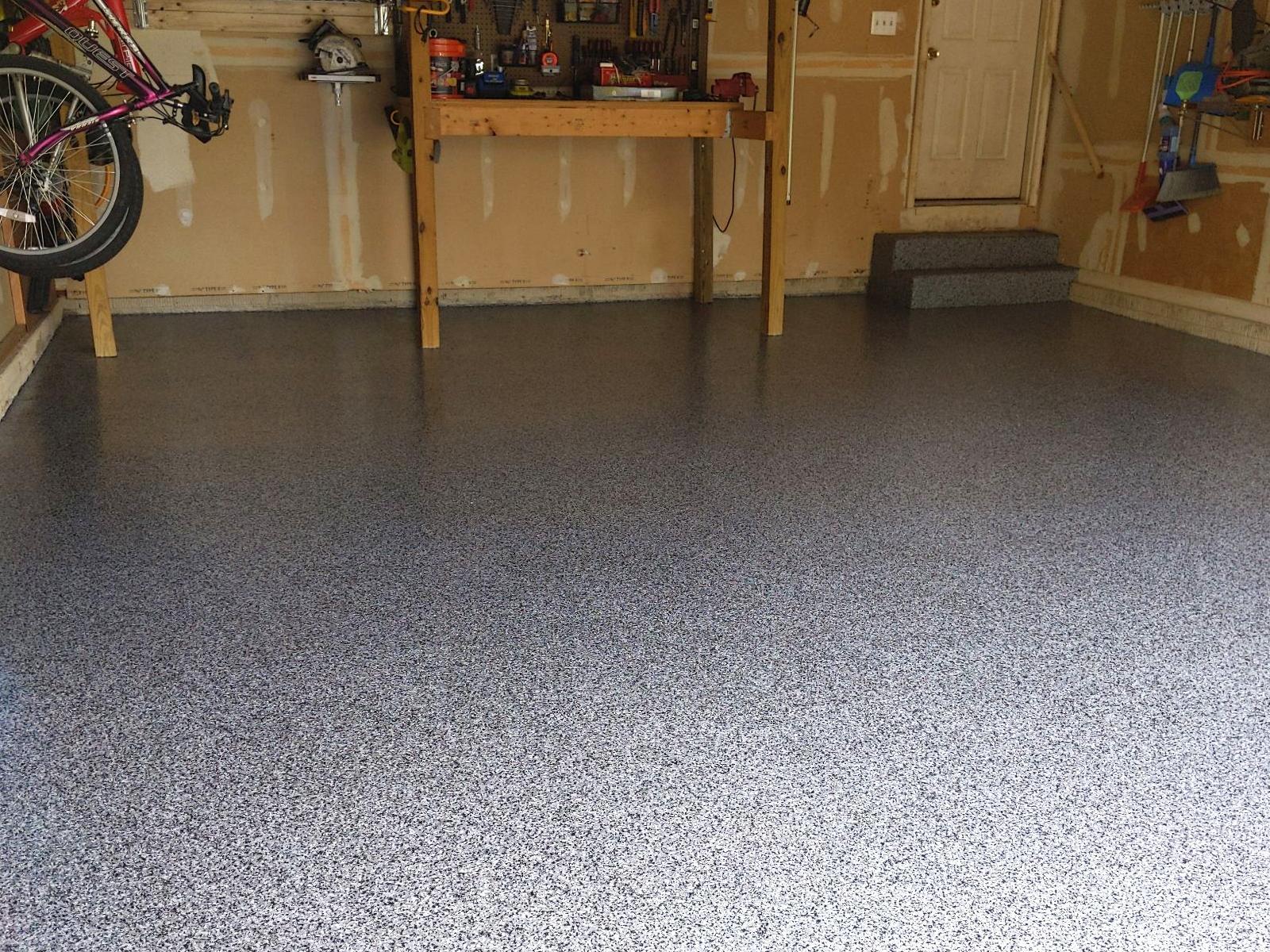 Concrete Floor Coating in Bear, DE - After Photo