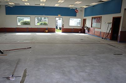 Weller's Gets a Floor Coating in Bridgeville, DE - Before Photo