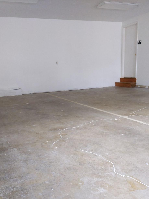 Garage Floor Coating in Bel Air, MD - Before Photo