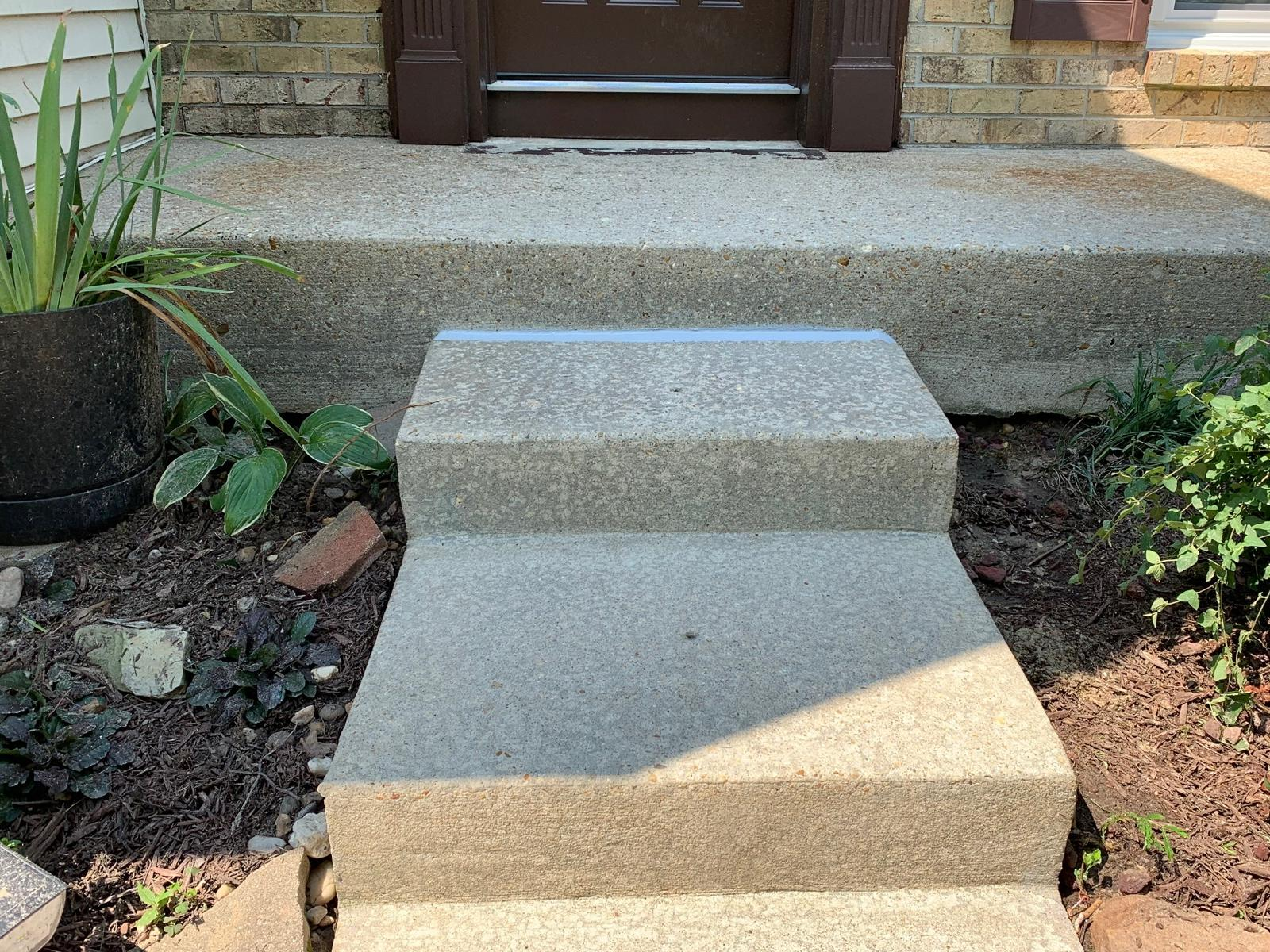 Lifting Steps in Millersville, MD - After Photo