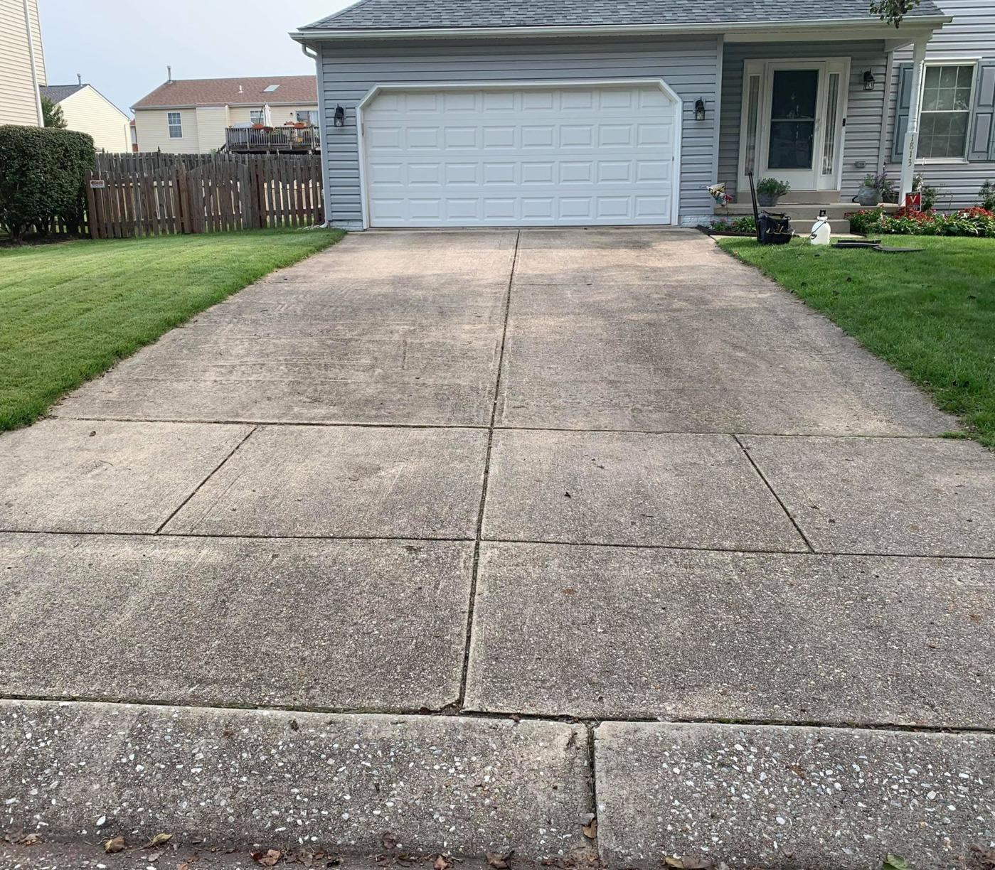 Driveway Repair in Severn, MD - Before Photo