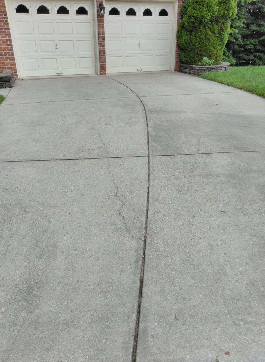 Driveway Repair in Bowie, MD - Before Photo