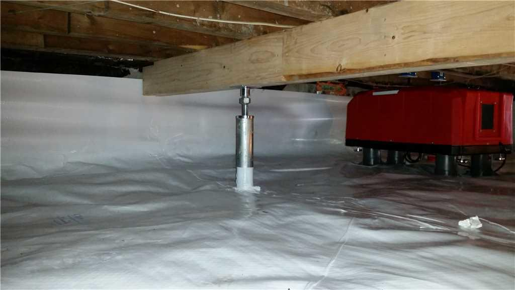 Crawl Space Encapsulation in Port Deposit, MD - After Photo