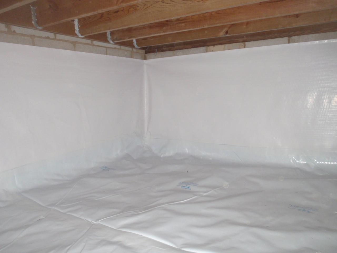 Chester, MD crawlspace encapsulation - After Photo