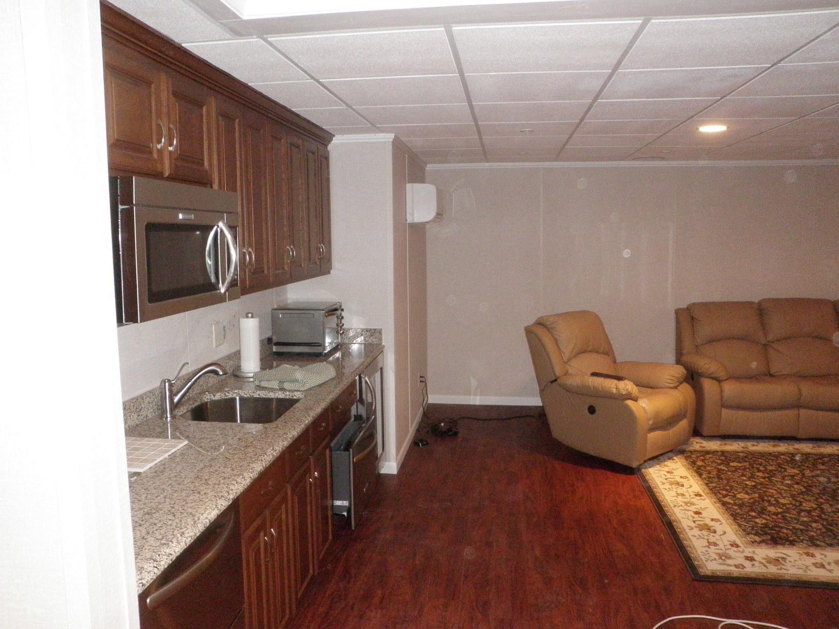 Restored basement in Middletown, Delaware - After Photo