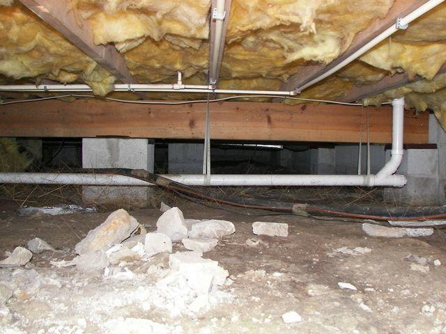 A new home, A new crawlspace