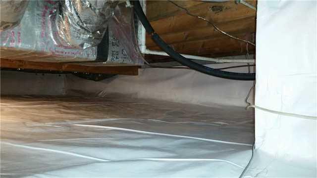Crawl Space Encapsulation in Tangier, VA