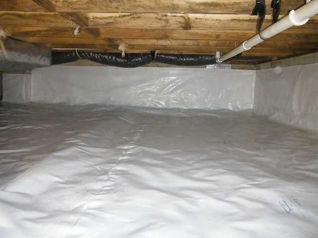 Crawl Space Encapsulation in Linkwood, MD