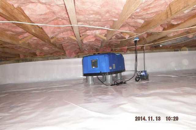 Ceciliton, MD Crawl Space Encapsulation