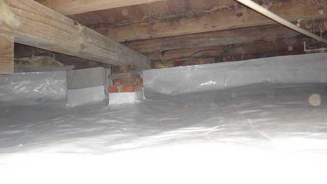 Henderson, MD Crawl Space Encapsultion