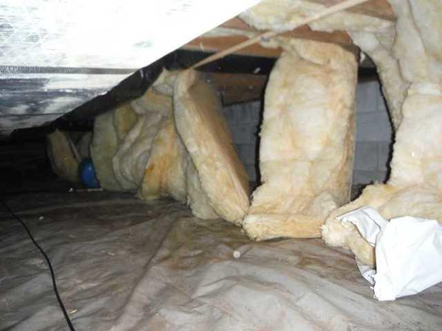 Delaware City, DE Crawl Space Problems
