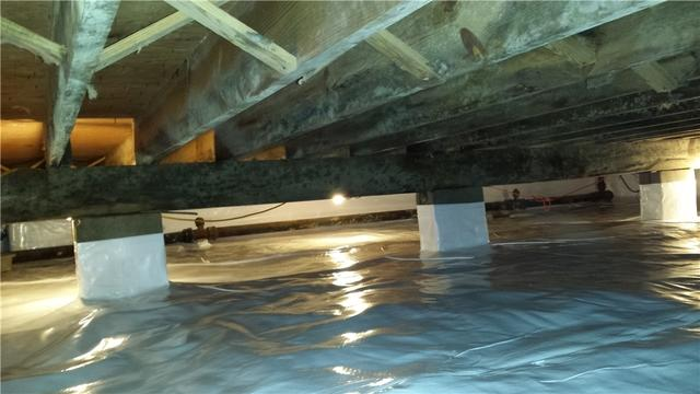 Crawl Space Encapsulation in Westover, MD
