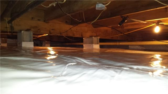 Pocomoke City, MD Crawl Space Encapsulation