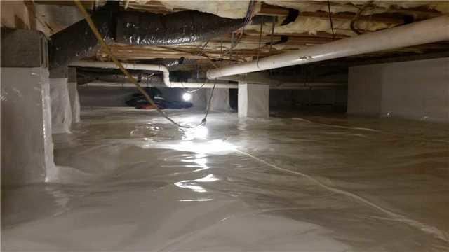 Crawl Space Problems In Greenbackville, VA