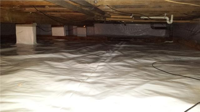 Crawl Space Encapsulation In Wye Mills, MD