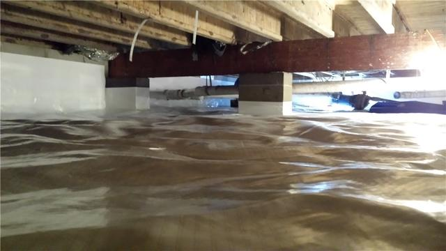 Wittman, MD Crawl Space Encapsulation