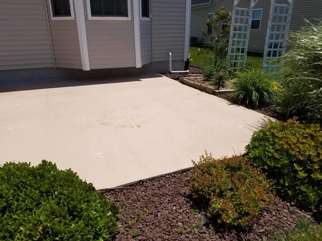 Sinking Patio Slab in Felton, DE