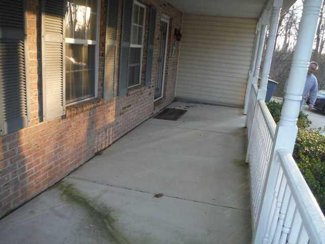 Crack in Porch Repaired by DryZone in Havre De Grace, MD