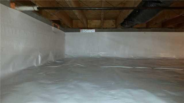 A Crawl Space in Felton is Transformed by Team DryZone